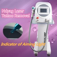 Wholesale Water Cooled Air - nd yag long pulse laser new laser for tattoo removal Pigmentation Treatment Indicator of Aiming Light Water cooling air cooling