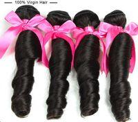 Wholesale Cheap Hair Spirals - Specially Spiral Curl Hair Wholesale Cheap Human Hair Extension Brazilian Virgin Hair Spring Curly Mocha Hair Body Wave 50g pc 5pcs dhl free