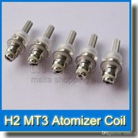 Wholesale Mt4 Clearomizer - EVOD MT3 Clearomizer Coil suit for many Bottom Dual Coil clearomizers MT3 GS H2 MT4 H5 Protank1 Protank2 Mini Protank1 Mini Protank2
