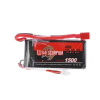 Wholesale Lipo Batteries For Rc Cars - Wild Scorpion 1500mAh 25C MAX 35C 2S T Plug Lipo Battery 7.4V for RC Car Airplane Helicopter Part order<$18no track