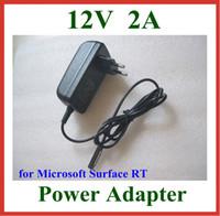 microsoft superfície pc venda por atacado-Carregador da parede do plugue da UE EU de 12V 2A para o adaptador da fonte de alimentação do PC da tabuleta da RT Surface 10.6 de Microsoft