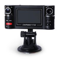 Dashcam Auto Dvr Hd Dual Objektiv F30 2,7