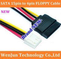 Wholesale laptop sata female resale online - SATA pin Female to pin Female ITX SATA power coble FLOPPY disk FLOPPY SATA power cord order lt no track
