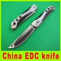 Wholesale China Tactical Knife - Utility China EDC knife Full steel folding pocket knife 5Cr13Mov 57HRC rescus knives utdoor survival pocket knife gift 324L