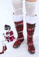 Wholesale Ciel Shoes - Wholesale-Anime New Hot Black Butler Ciel Phantomhive Christmas Cosplay Halloween Party Shoes