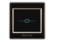 Wholesale Order Touch Screen Panel - MRT-M50 Luxury Crystal Glass Switch Panel AU US EU Standard 110~250V Touch Screen Wall Light Switch order<$18no track