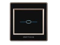 track lichtschalter großhandel-MRT-M50 Luxus Kristallglas Schalter Panel AU US EU Standard 110 ~ 250 V Touchscreen Wand Lichtschalter Auftrag $ 18no Spur