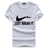 Wholesale Flash Trades - Manufacturers selling new creative men's short sleeve T-shirt cotton Crewneck SWEATER MENS half sleeve on behalf of foreign trade