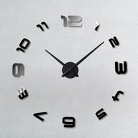 baaar diy reloj de pared grande de diseo moderno grandes regalos decorativos etiqueta de la pared de diy gran nmero de espejos de