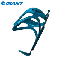 Wholesale Giant Bottle Cages - GIANT Cycling Bike Bicycle Ultra-light Aluminium Alloy Water Bottle Cage Bicycle Road Bike Water Bottle Holder Blue 1 pcs