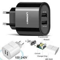 Wholesale Iphone Compatible Charger - Ugreen USB Charger Universal Quick Charge 3.0 30W Fast Mobile Phone Charger(Quick Charge 2.0 Compatible) for Samsung Huawei LG