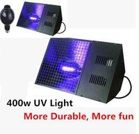 Wholesale Uv Light Show - Wholesale-2pcs lot - High UV lamp output E40 400 w UV Black Light For Stage DJ Show Purple stage effect lights Free Shipping