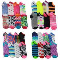 Wholesale Cheap Hosiery Wholesale - Cheap candy color Women Girls hosiery Sock Slippers socks cartoon cotton sock Massage Hosiery stockings 100pairs