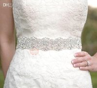 Wholesale Crystal Beaded Bridal Belts - Wholesale-2015 Stunning New Fashion dress belt Free Shipping Dazzling Beaded Crystals and Sequins Wedding Sash Bridal Belt