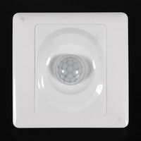 Wholesale Ir Sensor Mounting - 2016 New Arrival Infrared IR Body Motion Sensor Auto Wall Mount Control Led Light Switch