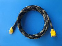 Wholesale Connector Pin Hdmi - 1.5m HDMI Conputer Cables Connection Line High Purity Copper Core Computer Connectors HD89 3 pin accessories air bulk vga