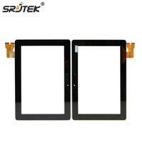 touchscreen digitalisierer glas für asus großhandel-Großhandel-Srjtek Neue 10,1