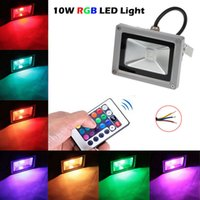 Wholesale 2015 Hot Selling W W W W Led floodlight IP66 Waterproof RGB warm cool white led Projector lights for outdoor lights V