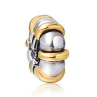 Wholesale Brand New Pandora Bracelet - Free shipping New Brand Gold 925 Sterling Silver European Bead Space Vintage Handmade Jewelry Snake pandora Bracelet Chain Wholesale 1pcs up
