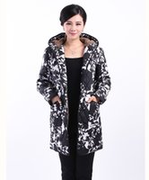 Wholesale Elderly Women Clothing - Wholesale-2015Parkas Padded jacket winter new winter coat hooded elderly mother dress fertilizer to increase cotton Women's Clothing