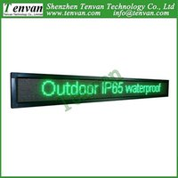 outdoor mobile advertising - outdoor mobile led advertising boards with RGY color high brightness and size cm W cm H