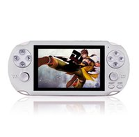 64Bit PAP Gameta-II 4G 4GB PMP PSP MP4 MP5 Video Game Consolas Soporte 2.4G Reproductor de mano inalámbrico Gameta 2 GAMEPAD