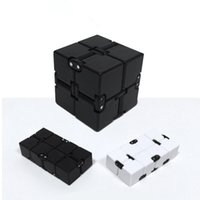 Wholesale funny toys best resale online - Infinity Cube Mini Fidget Toy Finger Edc Anxiety Stress Relief Magic Cube Blocks Children Kids Funny Gag Toys Best Christmas Gift Novelty