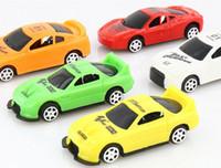 conjunto de trem magnético de madeira venda por atacado-Wholesale Crianças Modelo de Carro de Brinquedo de Presente Mini Carro Criativo Bonito Modelo de Carro Ano Brinquedos para o Menino Crianças Presentes de Aniversário de Natal