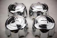 Wholesale Abs Chrome Wheels - 4pcs lot MB816581,92-04 MITSUBISHI MONTERO Sport Wheel Hub Center Cap NEW Shogun,Pajero,Challenger,Delia ,L200,L400 110 mm