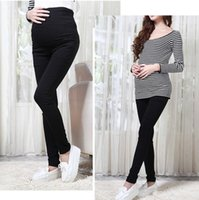 Wholesale White Cotton Maternity Pants - 5605# 2015 maternity pants trousers spring and summer thin maternity belly legging pencil long design clothes for pregnant women