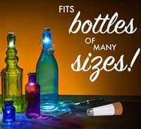 Wholesale Wholesale Empty Bottles For Water - USB Rechargeable Bottle Light Cork Creative Christmas Decorative Night Lights Empty Wine Bottle Lamp For Bar Decorations