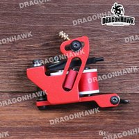 Wholesale Handmade Tattoo Machine Gun - Compass Handmade Pure Steel Tattoo Machine Gun For Liner Supply M159G19