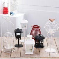 Wholesale Black White Candle Holders - White Black Candle Holder Beautiful Exquisite Home Party Decoration Candlestick Furnishing Articles Wedding Decorations In Stock
