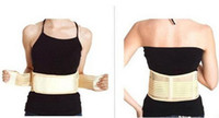 Wholesale High Quality Back Support Brace - High quality Tourmaline Magnetic Therapy Belt Lumbar Back Waist Support Brace Double Banded Adjustable Pad