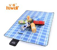 outdoor plastic rug - Picnic rug moisture proof pad outdoor thickening picnic cloth broadened double tent pad waterproof ultralarge