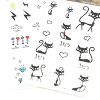 Wholesale Temporary Tattoo Stencils Free - Temporary Tattoo Sticker 50pcs lot New Body Tattoo Stencils Tattoo Designs Free Waterproof Arm Chest Tattoos 172*100MM HM
