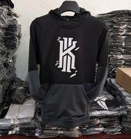 Wholesale Men Over Coats - Kyrie Irving Men's Basketball Hoodies Sweatshirts Jumpers hip hop Sports Coats Mens Long Sleeve Pullovers killer cross over hoodies