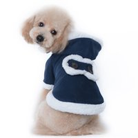 Wholesale Classy Clothing - Classy Suede Small Dogs Coats 2 Color Discount Pets Clothes for Fall and Winter Inexpensive Dogs Coats for YHT-42 Online
