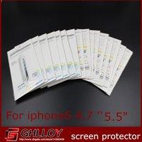 protector de pantalla para iphone 4.7 5.5 al por mayor-Matte / Clear Transparent 2014 nueva película Protector de pantalla Protector Película con paquetes minoristas para el iPhone 6 6G 4.7 '' 5.5