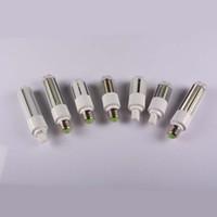 Wholesale pl led lamps - New Design PL Light LED Corn Bulb Light 9W 12W 15W 18W E27 G24 Led Bulbs Lamp 360 Degree AC 110-240V Warm Cool White + 2 Years Warranty