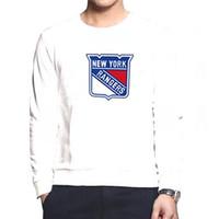 Wholesale Cheap Nylon Gears - Rangers White Round Collar American Hockey Jerseys Mens Hockey Wears 2015 New Style Athletic Shirts Cheap Hockey Uniform Best Hockey Gears