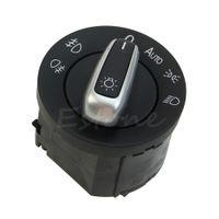 Wholesale Vw Passat Headlights - Free Shipping Chrome Headlight Switch Control Fit For VW GOLF JETTA MK5 MK6 PASSAT CC B6 order<$18no track