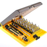 Wholesale Tools Kit For Phones - New Free Shipping! 45 in 1 Multifunction Magnetic Precision Torx Screwdriver Set Repair Tool Kit for Cell i Phone PSP Xbox 360