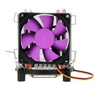 Wholesale Intel 775 Cooler - Oily Bearing High Speed Ultra Silent Cooling Fan CPU Cooler Radiator 2000RPM for Intel LGA 775 115X AMD AM2 754 939 940 Computer