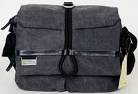 Wholesale Waterproof Digital Slr Camera Case - Grey NG W2160 dslr pouch National Geographic brand design Canvas sling digital slr case W2160 Gray camera bag