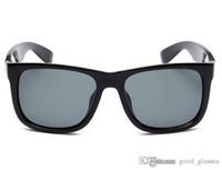 Wholesale titanium sport for sale - Fashion Sunglasses Men Women Sun Glasses Brand Designer Justin Mirror Gafas de sol Branded Designer Male Eyewear with cases online