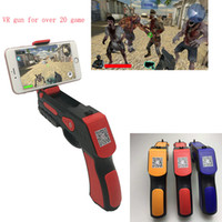 Wholesale Free Android Toys - 2017 Portable Virtual AR Game Gun Bluetooth AR Toys Gun Ar Blaster for iPhone Android Smart Phone free shipping OTH709