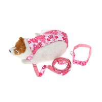 Wholesale Harness Rope Sizes - Lovely Dog Pet Harness Set Dog Traction Rope + Harness + Collar Dog Running Leash with Large and Medium Size L Dog Supplies