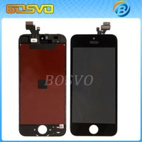 Wholesale I Phone Replacement Screens - Wholesale-Replacement Original lcd for iPhone 5 i phone 5 iphone5 LCD display screen Assembly with touch digitizer free shipping 1 piece