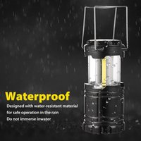 Wholesale Great Indoors - LED Lantern NEW COB Technology emits 300 LUMENS Collapsible Tough Lamp Great Light for Camping Car Shop Attic Garage